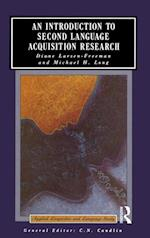 Introduction to Second Language Acquisition Research af Diane Larsen Freeman
