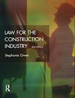 Law for the Construction Industry (Chartered Institute Of Building)