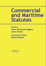 Commercial and Maritime Statutes (Maritime and Transport Law Library)