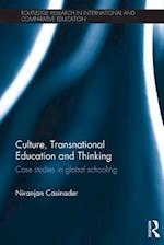 Culture, Transnational Education and Thinking af Niranjan Casinader