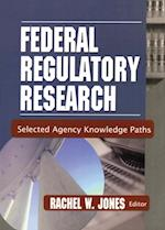 Federal Regulatory Research af Rachel Jones