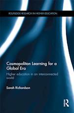 Cosmopolitan Learning for a Global Era