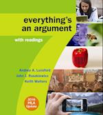 Everything's an Argument With Readings af Andrea A. Lunsford