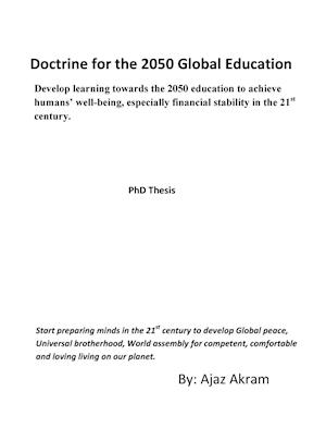 Bog, hardback Doctrine for the 2050 Global Education af Ajaz Akram