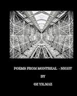 POEMS FROM MONTREAL - NIGHT