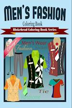 Men's Fashion Coloring Book