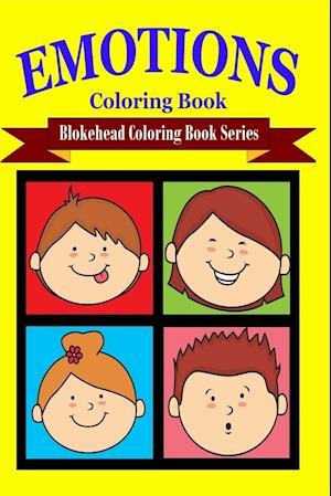 Bog, paperback Emotions Coloring Book af The Blokehead