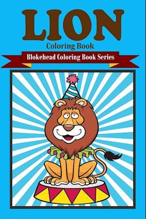 Bog, paperback Lion Coloring Book af The Blokehead
