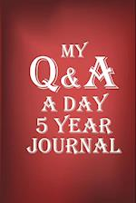 Q&A A Day Journal 5 Year af The Blokehead