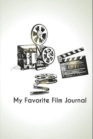 Bog, paperback My Favorite Film Journal af The Blokehead