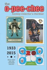 (Past Edition) O-Pee-Chee Hockey Collector's Checklist