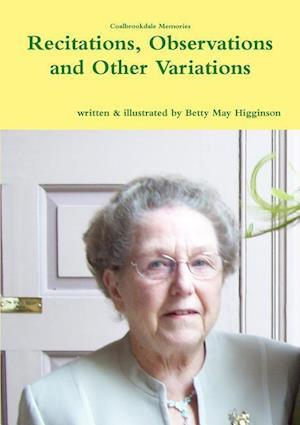 Bog, hæftet Recitations, Observations and Other Variations af Betty May Higginson