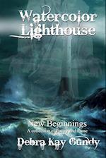 Watercolor Lighthouse af Debra Kay Gundy