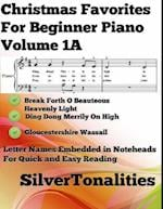 Christmas Favorites for Beginner Piano Volume 1 A af Silver Tonalities