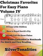 Christmas Favorites for Easy Piano Volume 1 V af Silver Tonalities