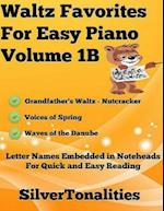 Waltz Favorites for Easy Piano Volume 1 B