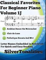 Classical Favorites for Beginner Piano Volume 1 J