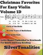 Christmas Favorites for Easy Violin Volume 1 D af Silver Tonalities