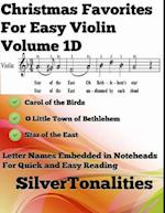 Christmas Favorites for Easy Violin Volume 1 D
