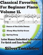 Classical Favorites for Beginner Piano Volume 1 L