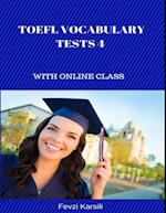 Toefl Vocabulary Tests 4