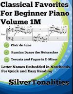 Classical Favorites for Beginner Piano Volume 1 M