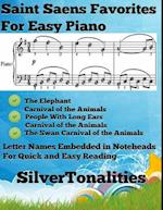 Saint Saens Favorites for Easy Piano Volume 1 A