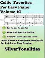 Celtic Favorites for Easy Piano Volume 1 C