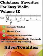 Christmas Favorites for Easy Violin Volume 1 E