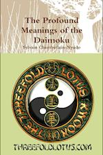 The Profound Meanings of the Daimoku