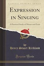 Expression in Singing