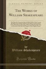 The Plays of Shakspeare (Classic Reprint)