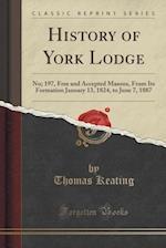 History of York Lodge
