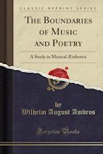 The Boundaries of Music and Poetry