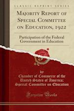 Majority Report of Special Committee on Education, 1922