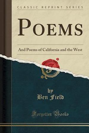 Bog, paperback Poems af Ben Field