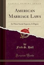 American Marriage Laws