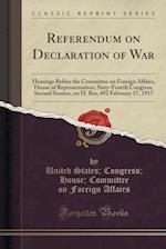 Referendum on Declaration of War