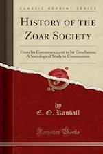 History of the Zoar Society