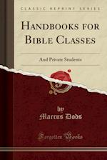 Handbooks for Bible Classes