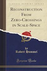 Reconstruction from Zero-Crossings in Scale-Space (Classic Reprint)
