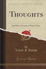 Thoughts af Lewis F. Korns