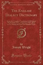 The English Dialect Dictionary, Vol. 2