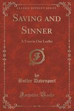 Saving and Sinner af Butler Davenport