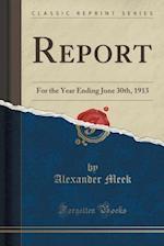 Report af Alexander Meek
