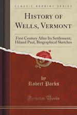 History of Wells, Vermont