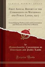 First Annual Report of the Commission on Waterways and Public Lands, 1917