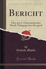 Bericht af Gustav Mayer