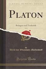 Platon, Vol. 2