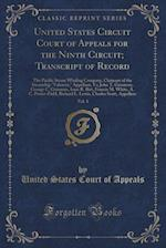United States Circuit Court of Appeals for the Ninth Circuit; Transcript of Record, Vol. 1: The Pacific Steam Whaling Company, Claimant of the Steamsh